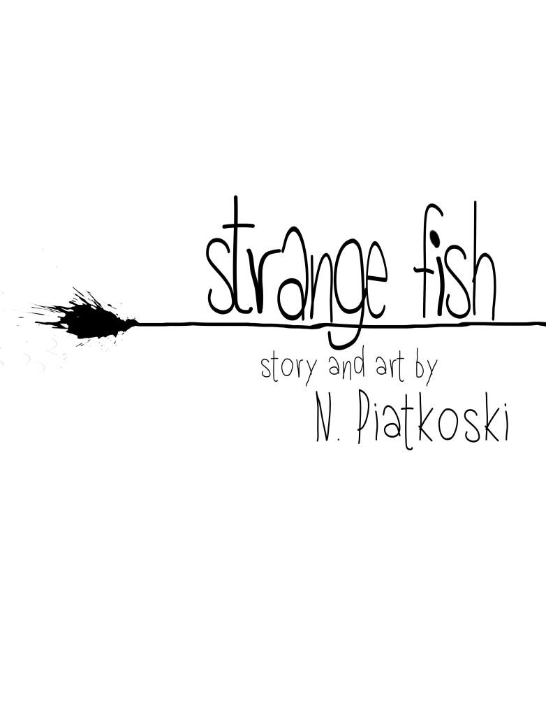 Strange Fish Title Page